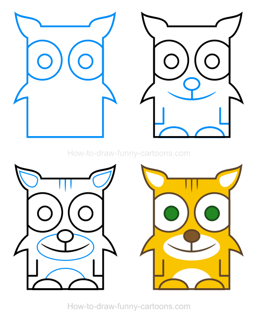 520x646 Bobcat Easy Drawing Transparent Png Clipart Free Download