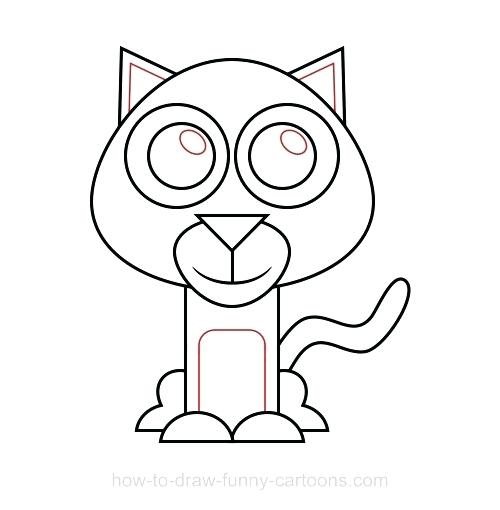 500x510 How To Draw A Wildcat Face Home Improvement Neighbor Name