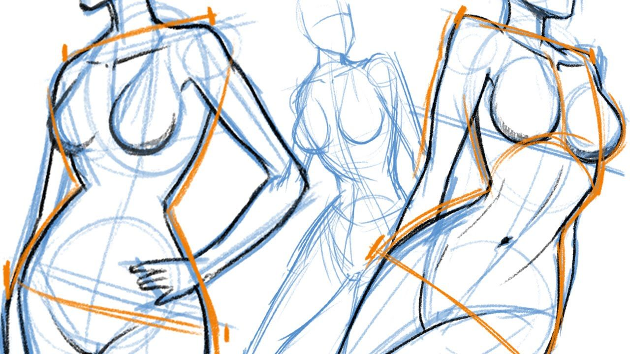1280x720 How To Draw, The Female Body Drawing Tips Drawings, Body