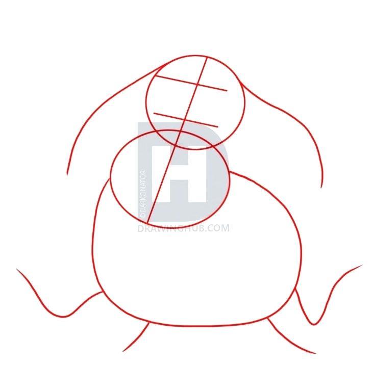 729x720 Draw Eeyore