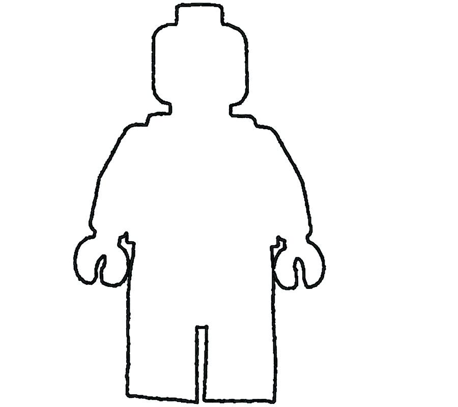 Body Drawing Template