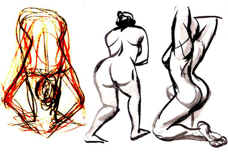748x500 how to draw more dynamic poses tips for fluid gesture drawing