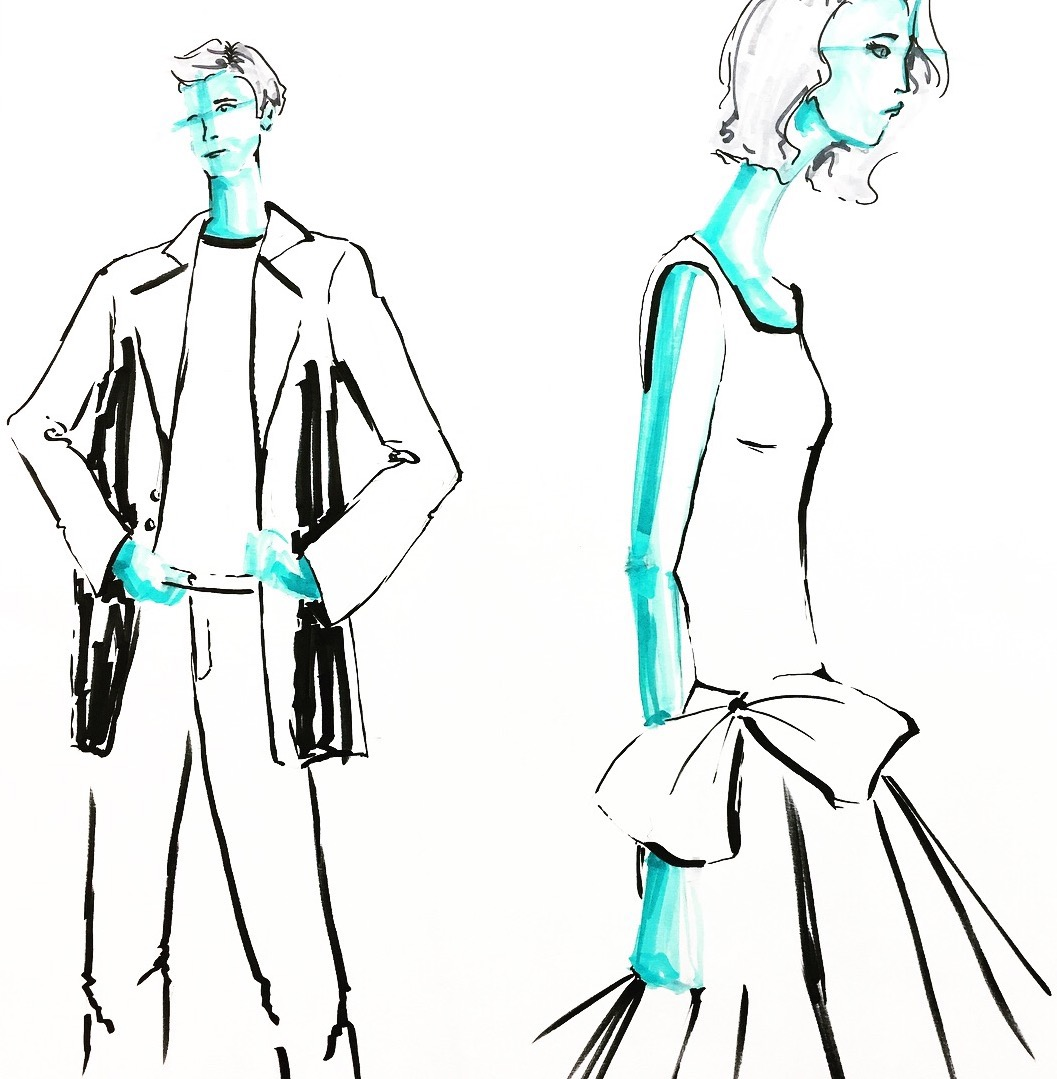 1057x1079 Live Model Drawing And Quick Sketches On Scad Portfolios