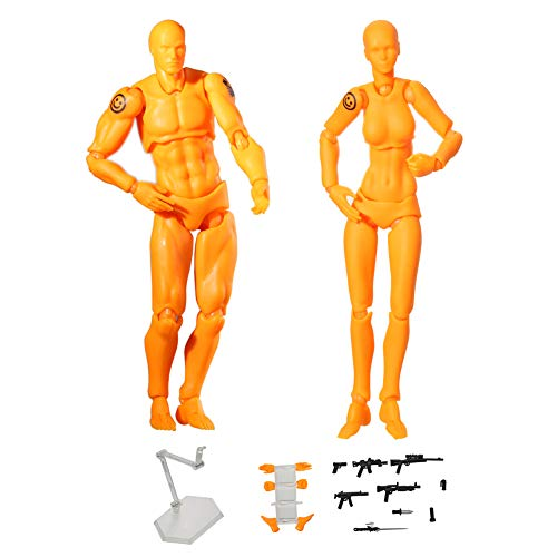 500x500 starall pcsset action drawing figure model human mannequin