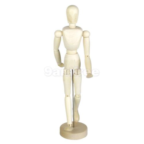 500x500 Wooden Wood Figure Manikin Mannequin Human Artist Drawing Model