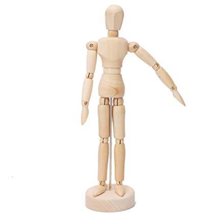 425x425 Firekingdom Artist Art Class Wooden Figure Male