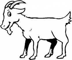 250x209 Drawing Goats Clipart, Picture