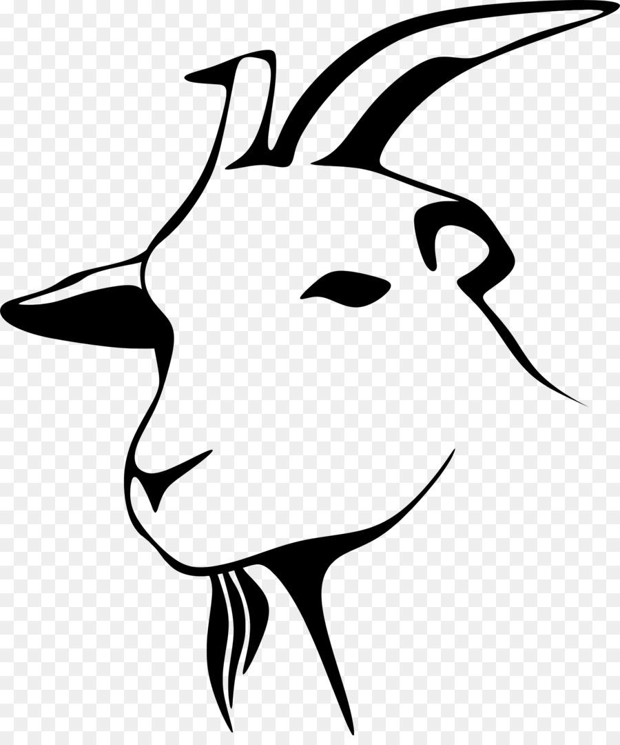 900x1080 Boer Goat Clip Art Boer Goat Drawing