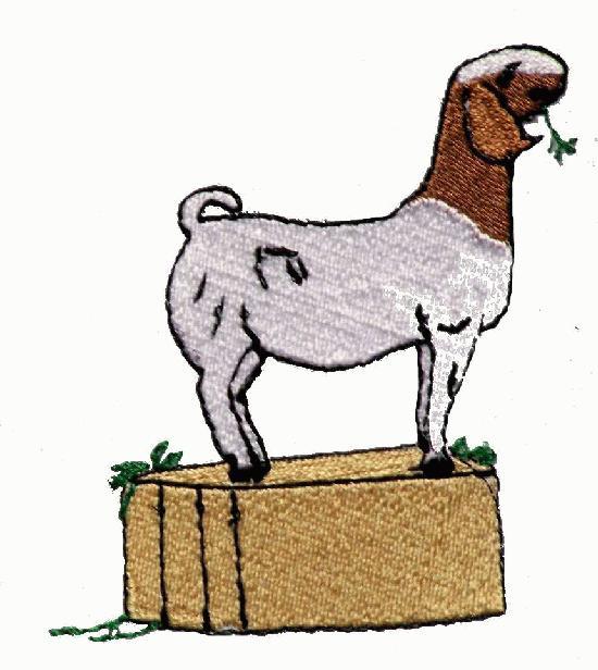 550x616 Boer Goat Clip Art
