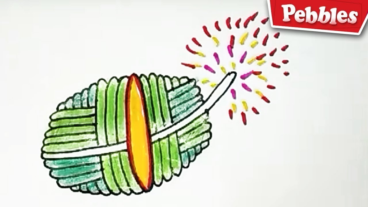 1280x720 how to draw auto bomb cracker easy auto bomb drawing for kids