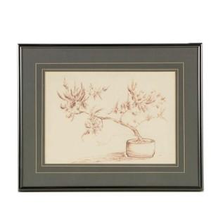 300x300 m o m ink drawing of a bonsai lot art
