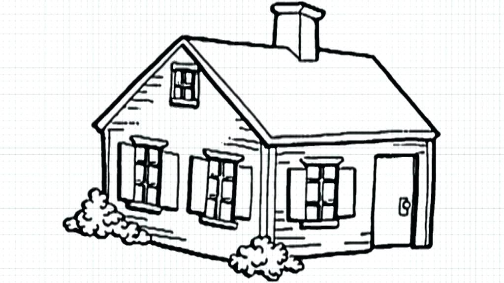 1024x576 Drawing Home Free Download