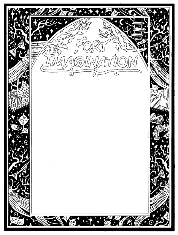 600x791 book cover pattern design fort imagination on massart portfolios