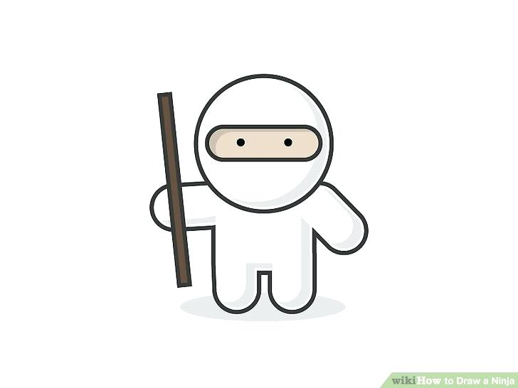 728x546 ninja drawings how to draw a ninja step art ninja drawings