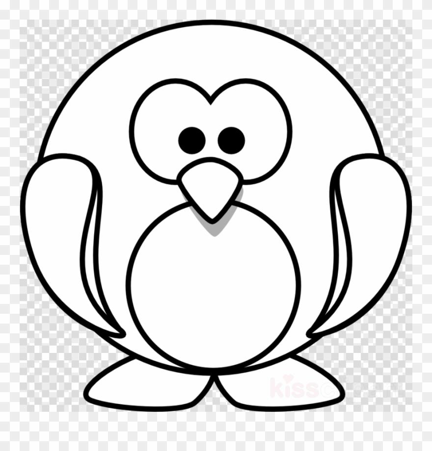 880x920 Penguin Cartoon Outline Clipart Penguin Drawing Clip