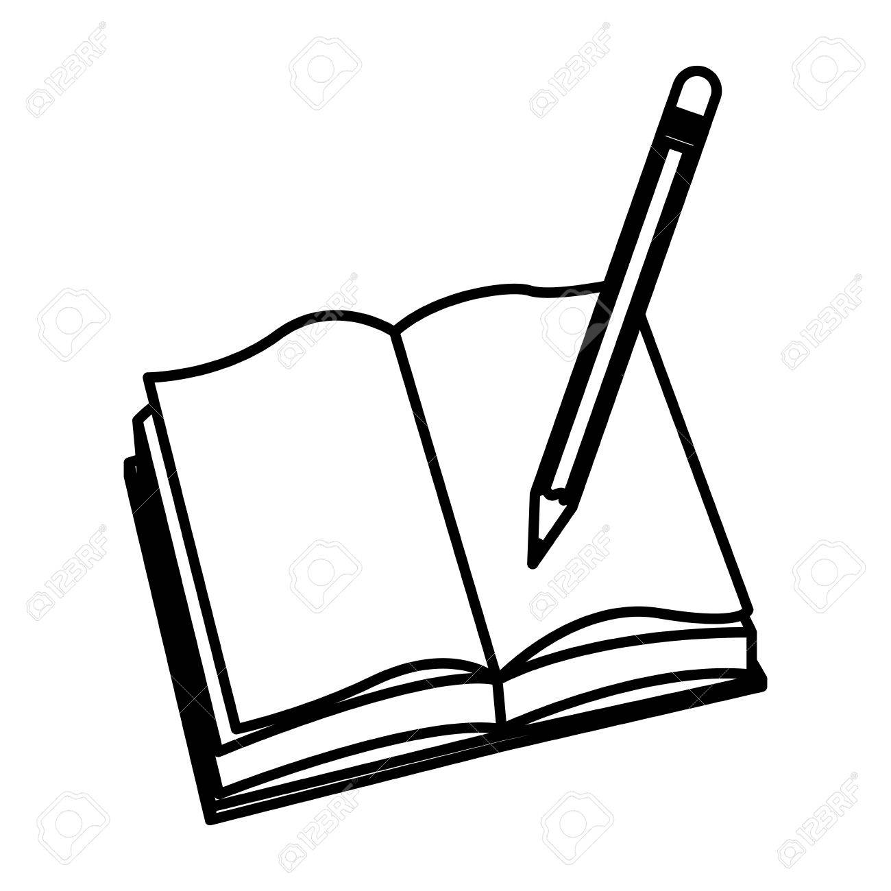 1300x1300 Scripture Clipart Open Book Outline
