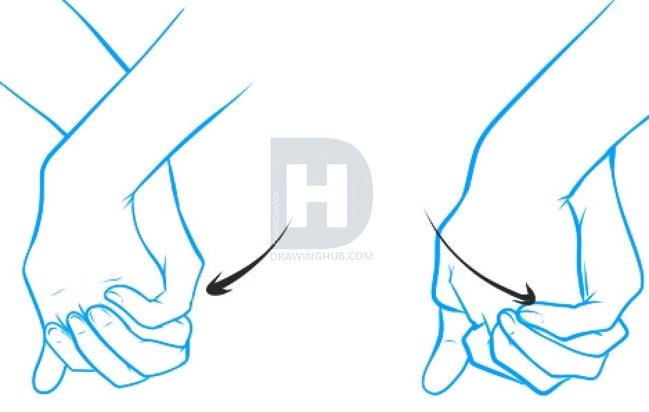 938x596 Drawing Holding Hands Book Hand Holding How To Draw Holding Hands