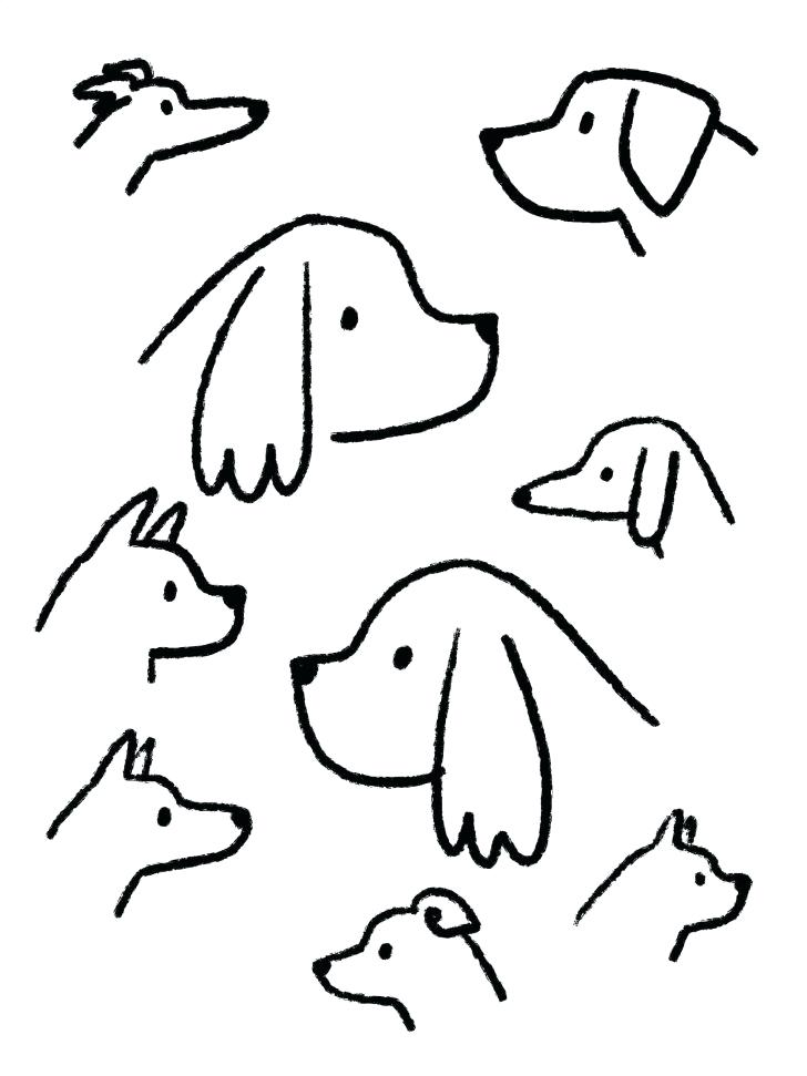 728x971 Easy Pictures To Draw Of Animals Medium Size Of Animals To Draw