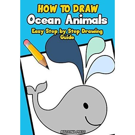 454x454 How To Draw Ocean Animals Easy Step