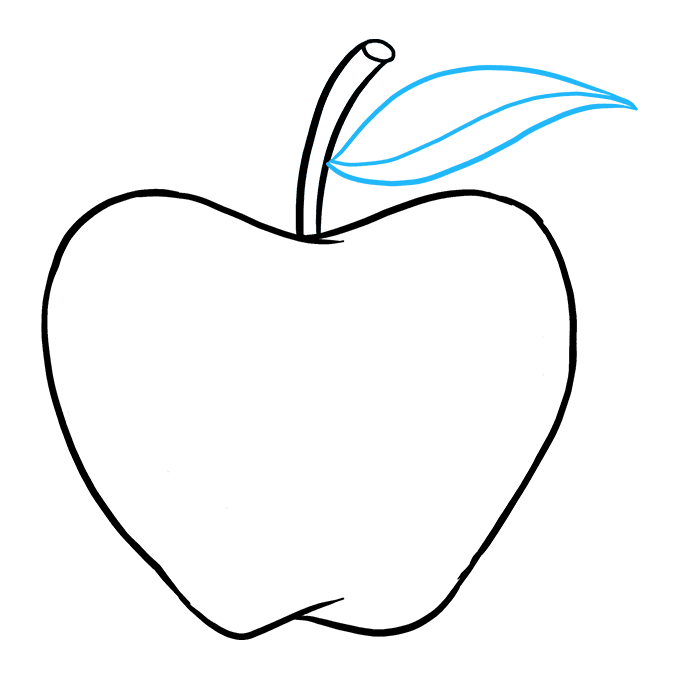 680x678 How To Draw An Apple Really Easy Drawing Tutorial