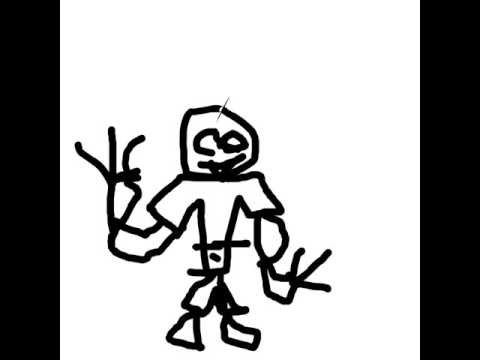 480x360 Sana The Skeleton Character Draw