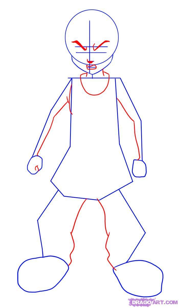 700x1202 Drawing Boondocks Style