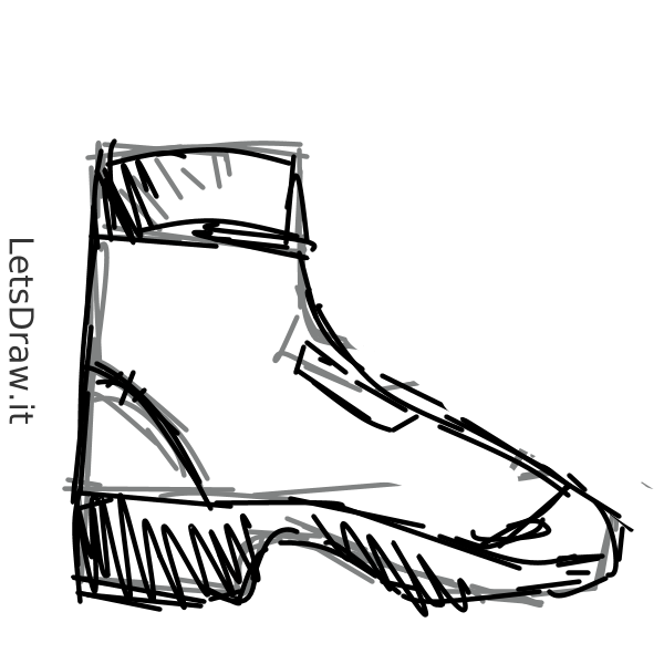 600x600 How To Draw Boots