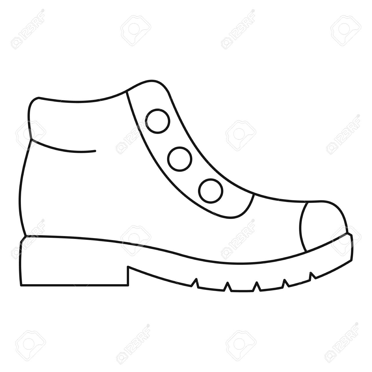 1300x1300 Huge Collection Of 'hiking Boot Drawing' Download More Than