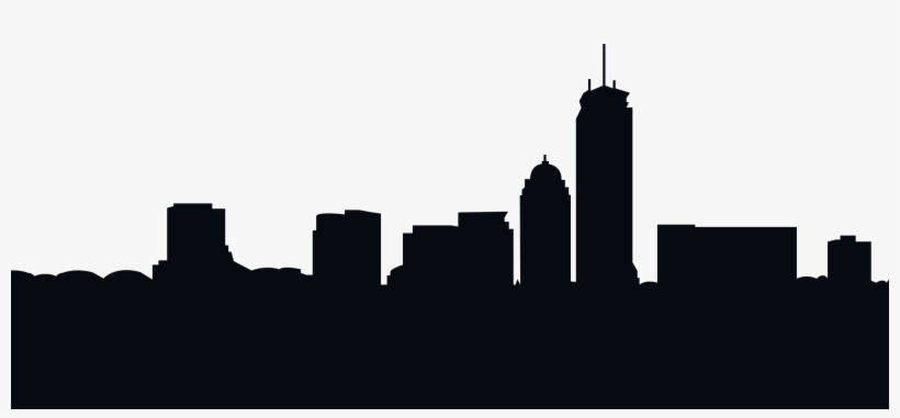820x381 Silhouette Royalty Free City