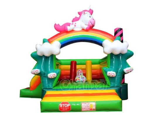 550x412 china unicorn pony inflatable jumping castle inflatable moon