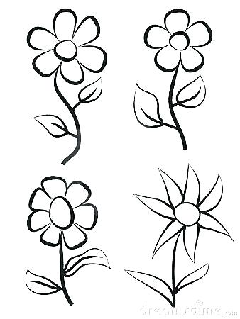 338x450 draw simple flowers simple flowers drawing simple flowers drawing