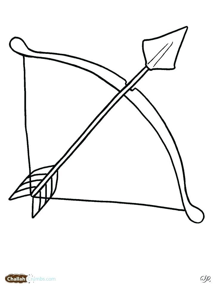 728x971 Cherub Drawing Bow Arrow For Free Download