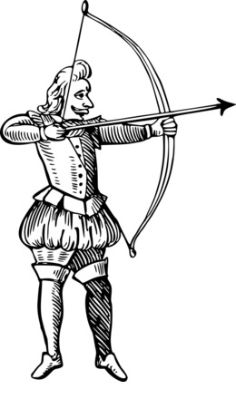 260x440 Download Bow And Arrow Drawing Clipart Bow And Arrow Clip Art