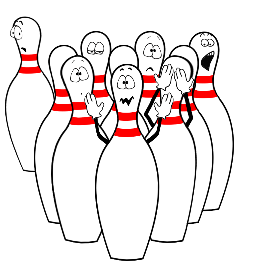 886x886 funny bowling clipart move emoticon bowling pins, bowling