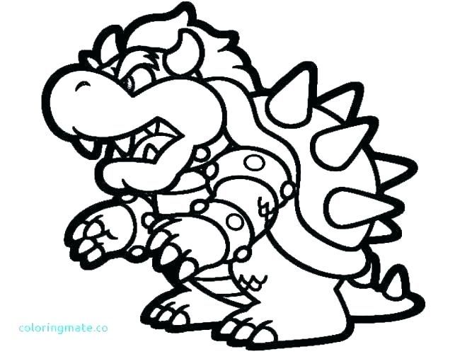 Bowser Drawing Free Download Best Bowser Drawing On