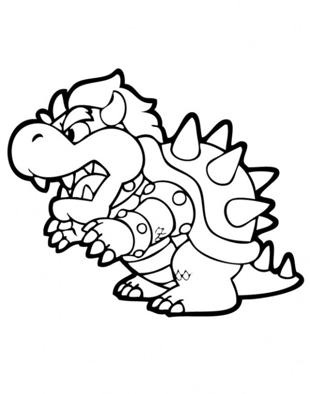 Bowser Jr Drawing | Free download on ClipArtMag