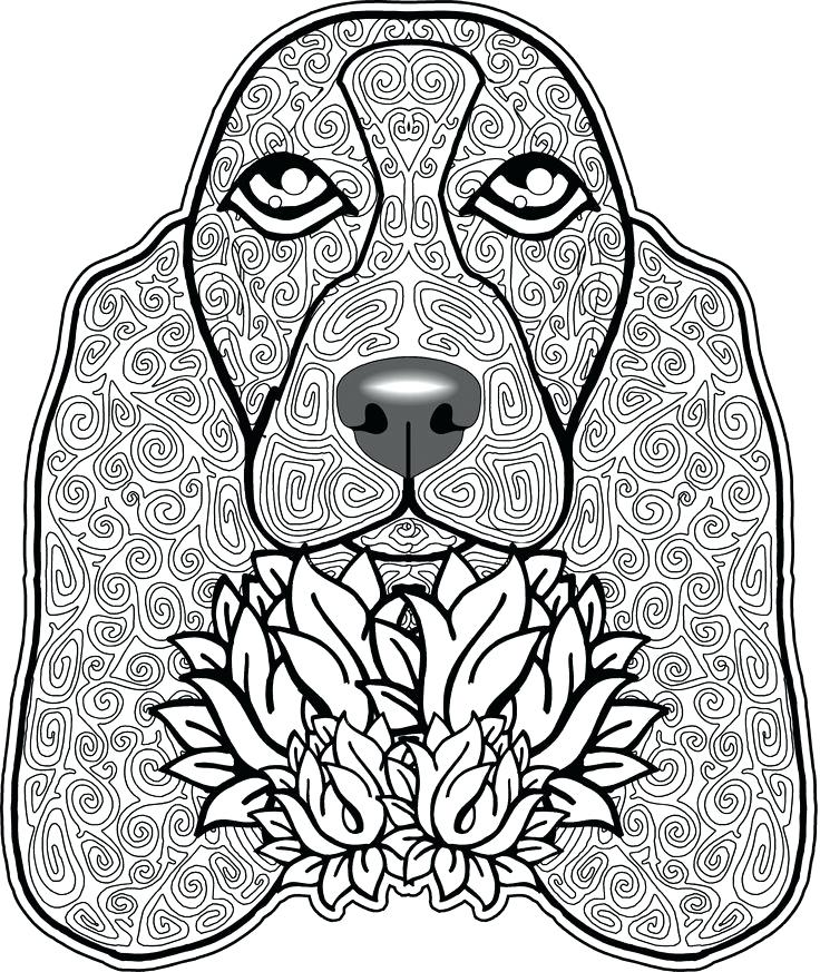 736x873 boxer dog coloring pages best dogs to color images on of boxer dog