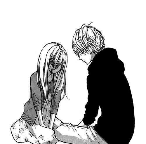 500x493 imagem de manga, couple, and boy manga ^ manga, manga