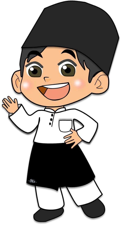 596x1112 Muslim Kids Cartoon Boy, Cartoon Kids