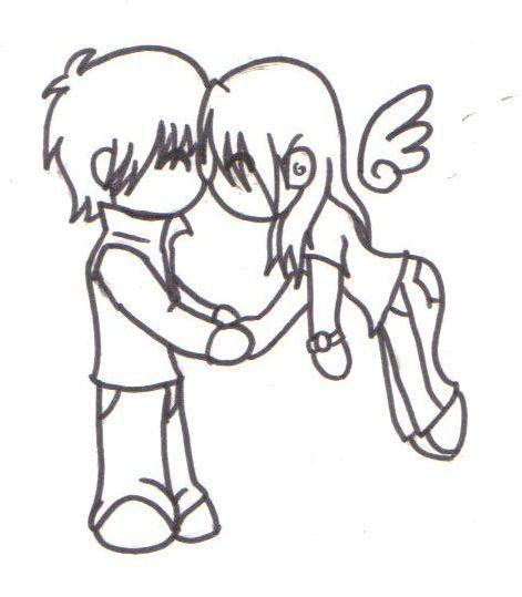 471x539 Chibi Kisses
