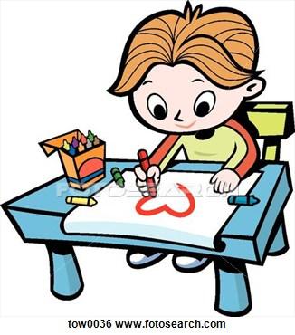 326x370 Boy Drawing Clipart Clip Art