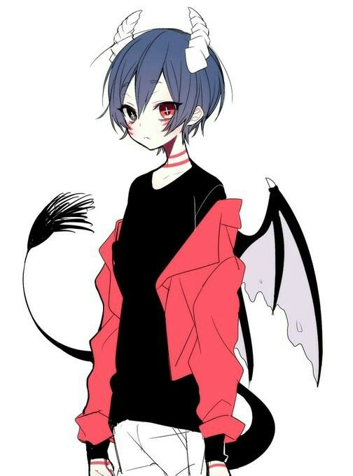 504x680 Devil Boy Drawing Picture Drawing Skill