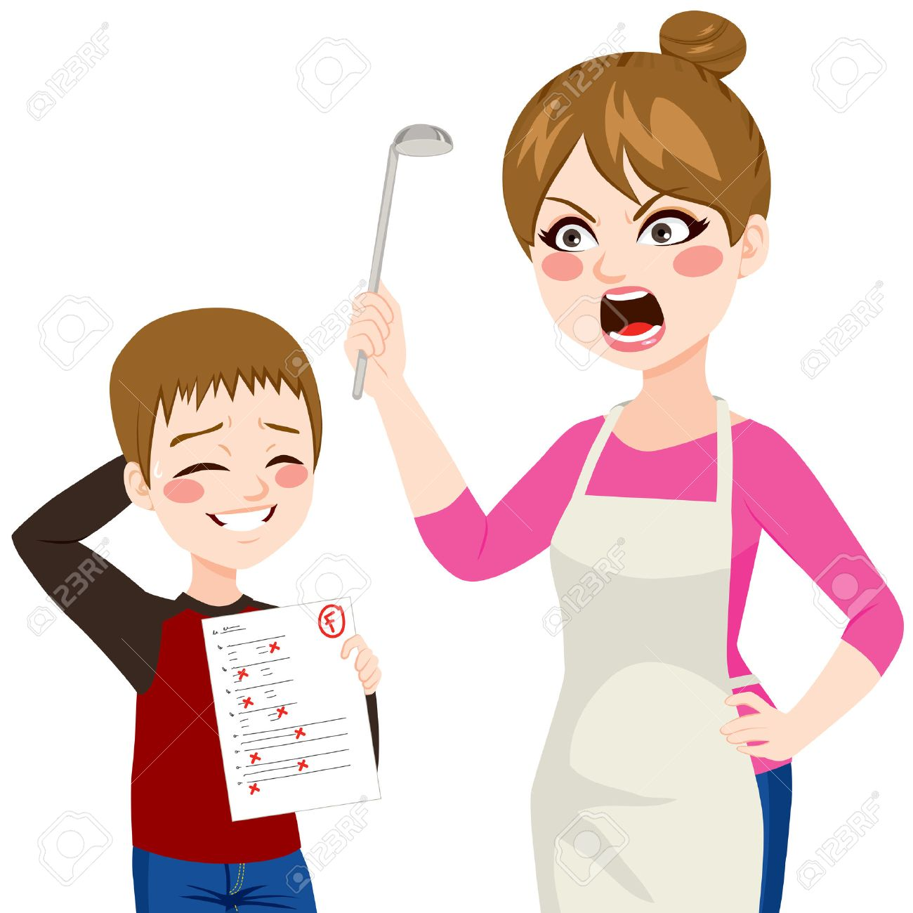 1300x1300 Angry Little Boy Drawing Screaming Clipart Than Happy Clip Art