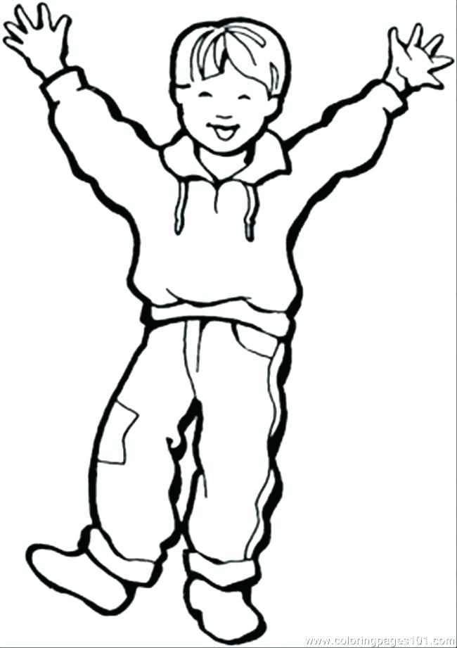 650x921 Coloring Pages Of A Boy Coloring
