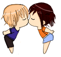 215x201 Anime Boy And Girl Kissing Drawing Anime Collection