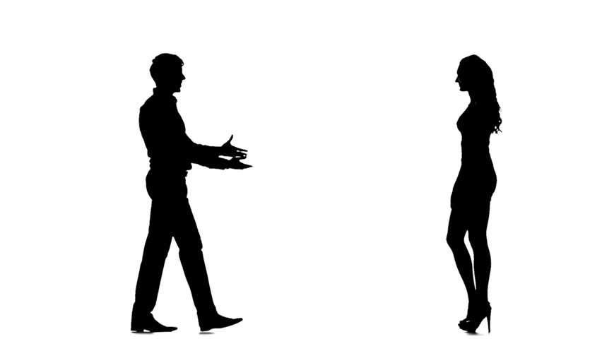 852x480 Little Boy And Girl Kissing Silhouette