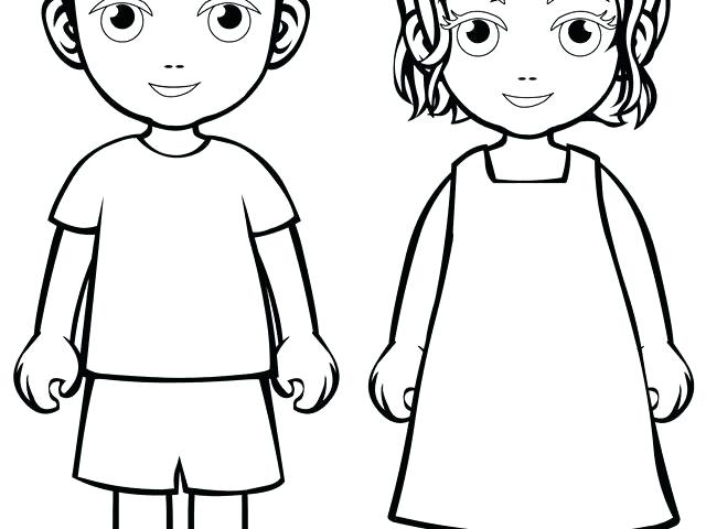 640x480 Outline Of A Boy And Girl Coloring Pages Boy And Girl Kissing