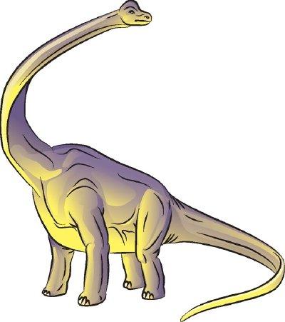 400x451 How To Draw Brachiosaurus In Steps Howstuffworks