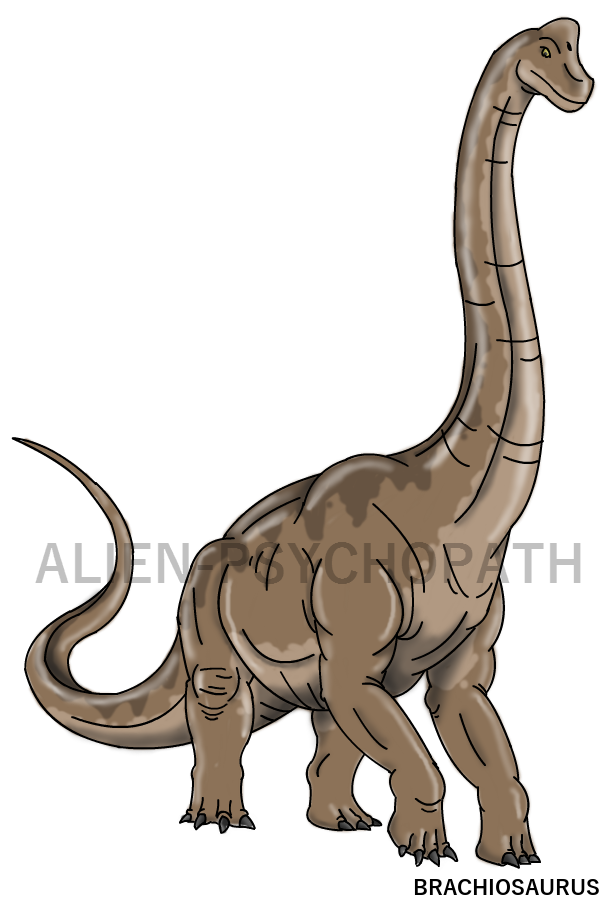 606x897 Jurassic Park Female Brachiosaurus