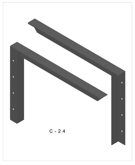 450x546 d concealed bracket extended concealed bracket drawings aampm